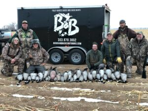 Guided Goose Hunting in Colorado